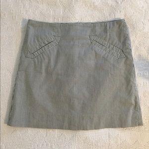 Grace striped high waist skirt size 4